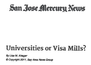 universities or visa mill